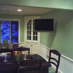 corner hutch tv wall mounting