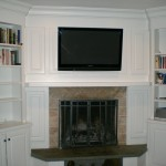 fireplace tv wall mount