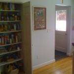 Existing 2 door pantry